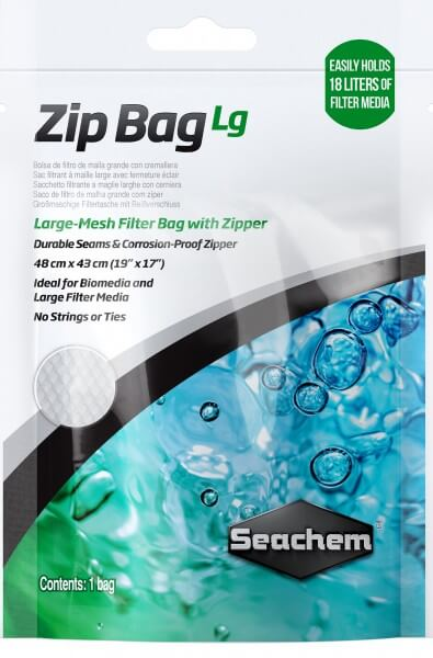 SEACHEM - Zip Bag Large - Filterbeutel