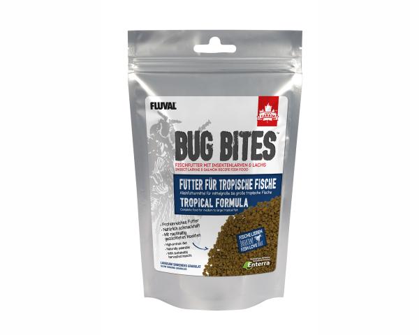 Bug Bites - Futter für mittel bis große Tropische Fische - 125g