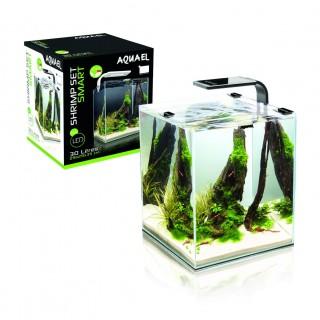 Nano Aquarium - Shrimp Set smart 10L - schwarz