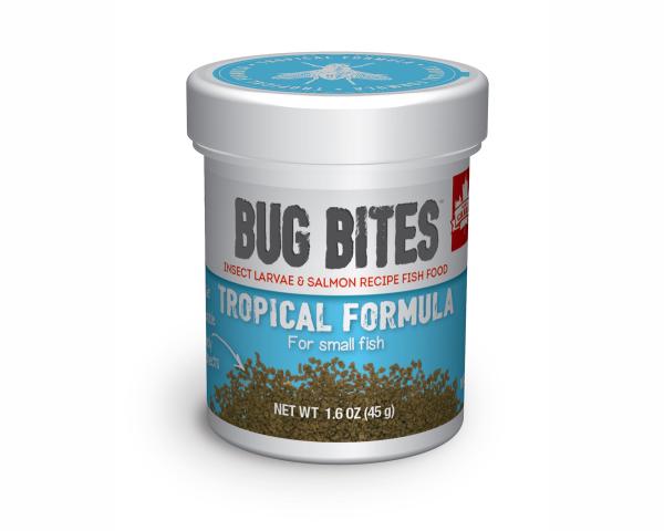 Bug Bites - Futter für kleine Tropische Fische - 45g