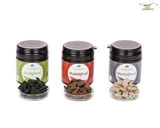 NatureHolic - Futter Paket - Mainfeed / Proteinfeed / Mineralfeed