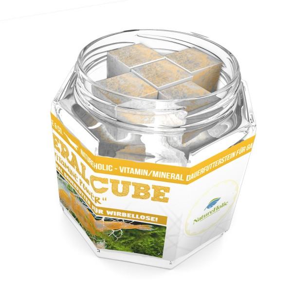 """NatureHolic - MineralCube """"Vitamine Power"""" - 47ml - Mineralversorgung + Ferienfutter"""