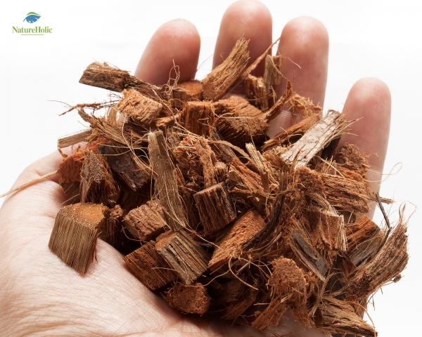 Natureholic Kokoshusk Chips lose für Krabbenterrarium - 100 Liter